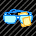 glasses, cleaning, microfiber, clean, mop, head