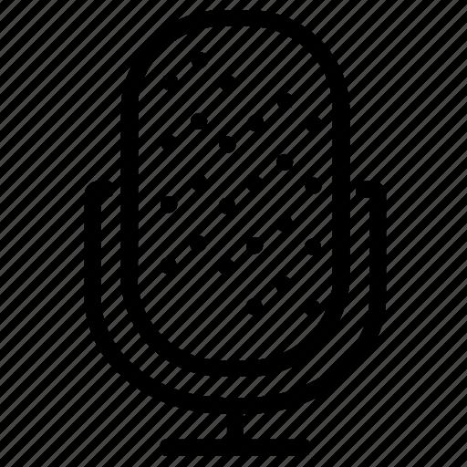 audio, microphone, multimedia, record, recorder, sound icon