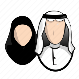 arabs, client, family, group, human, kuwait, middle east, wife icon