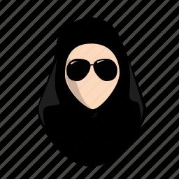 arab, fashion, female, hijab, lady, style, woman icon
