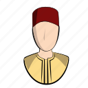 arabic, avatar, clothes, doha, islam, man, moroccan icon