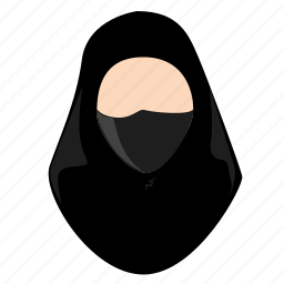 arab, avatar, female, hijab, islam, lady, profile icon