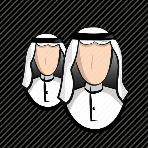 arab, arabian, business, cash, financial, man, money, users icon