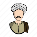 clothes, egypt, egyptian, guy, male, man, profile icon