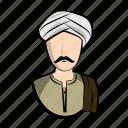 clothes, egypt, egyptian, guy, male, man, profile icon