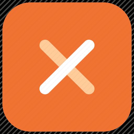 app, calculator, cross, mobile, multiply, ui, web icon