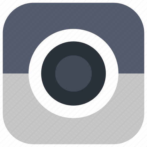 app, camera, lens, photography, shutter, ui, web icon