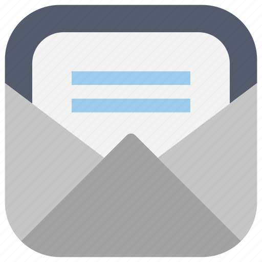 app, e-mail, emails, inbox, mail, ui, web icon