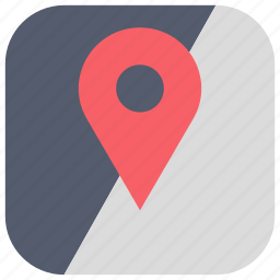 app, destinations, gps, location, maps, routes, ui icon