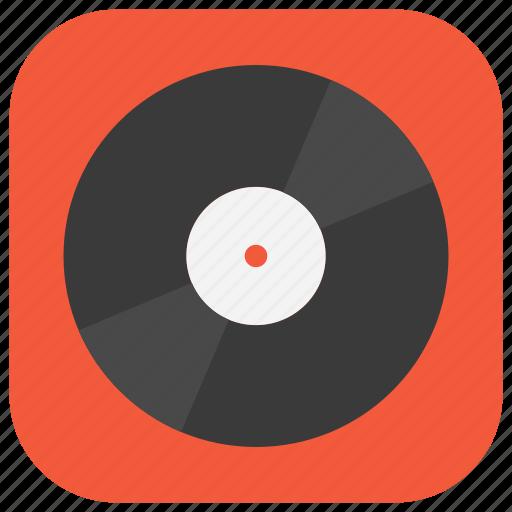 app, market, music, player, playlist, ui, vinyl icon