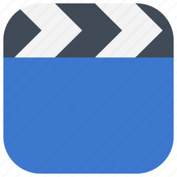 app, editor, film, movies, my videos, ui, web icon