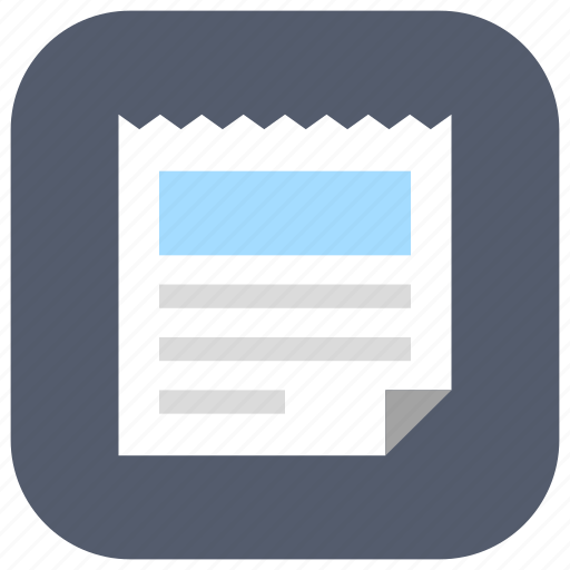 app, latest, news, newspaper, press, ui, web icon