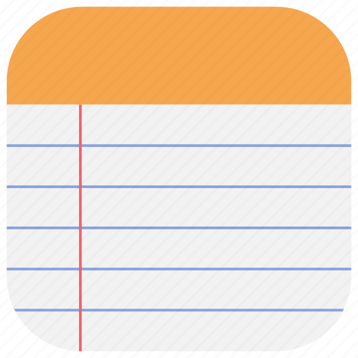 app, list, memo, notepad, notes, ui, web icon