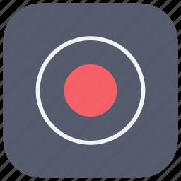 app, audio, record, recorder, ui, video, voice icon
