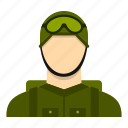 actions, air, airborne, airplane, army, military, paratrooper icon