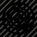 aim, bullseye, focus, goal, shoot, shooting, target icon