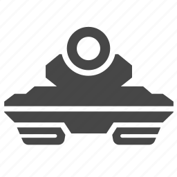 gunship, military, panzer, tank, vehicles, war, warfare icon