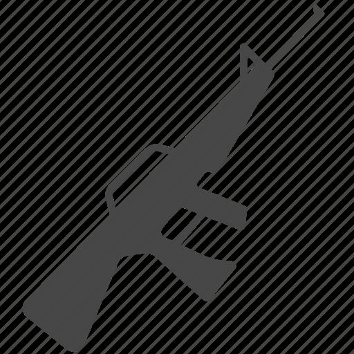 army, gun, machine gun, military, pistol, war, weapon icon