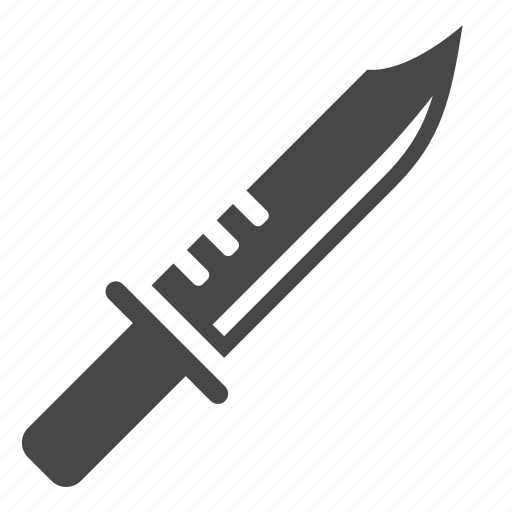 army, blade, knife, military, sparta knife, war, weapon icon