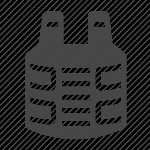bullet proof vest, vest icon