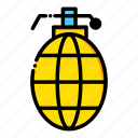 burst, explosion, explosive, grenade, military, weapons icon
