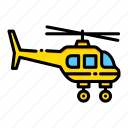 aircraft, chopper, flight, fly, helicopter, plane, transportation icon