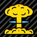 blast, bomb, explosion, explosive, miscellaneous, nuclear, war