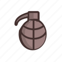 army, bomb, grenade, military, navy, tank, weapon