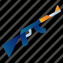 ak, ammunition, army, gun, shoot, war, weapon icon