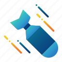 ammunition, bomb, explosive, nuclear, radioactive, war, weapon icon