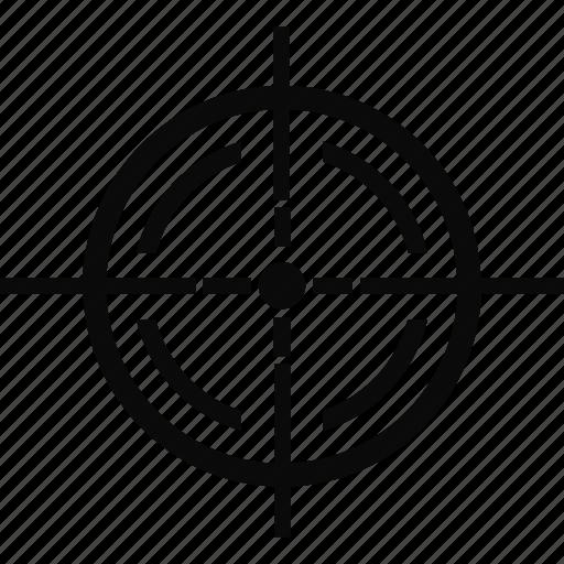 army, bullseye, military, navy, target icon