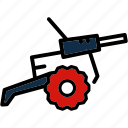 battle, cannon, military, war, weapon icon