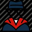 agent, crime, detective, investigator, spy icon