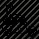 army, car, military, transport, autonomous, automated, vehicle icon