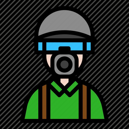 avatar, aviator, military, pilot icon