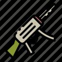 weapon, firearm, assault rifle icon
