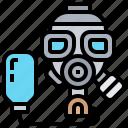 gas, hazard, mask, poison, protection