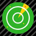 area, military, positional, radar, technology icon