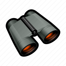 find, military, search, zoom icon