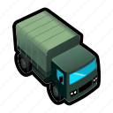 drive, military, supply, transport, truck icon