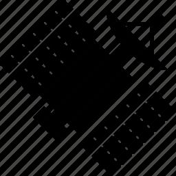 antenna, communication, radio, sat, satellite, signal, space station icon