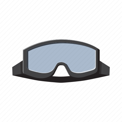 active, cartoon, equipment, goggles, mask, military, outdoor icon