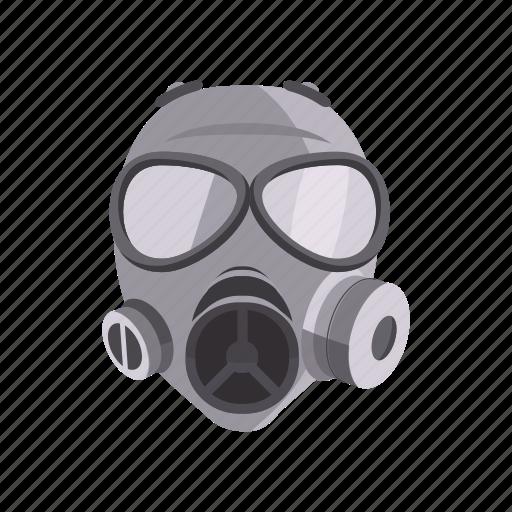iconfinder military weapon cartoon by ivan ryabokon rh iconfinder com gas mask cartoon ww2 ww1 gas mask cartoon