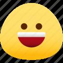emotion, happy, face, feeling, expression, emoji icon