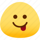 emoji, emotion, expression, face, feeling, naughty icon