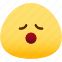 emoji, emotion, expression, face, feeling, relax