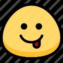 emotion, naughty, face, feeling, expression, emoji