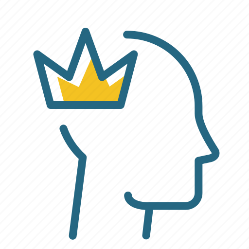 crown, king, leader, ruler icon