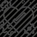 heart, kind, kindness, moral icon