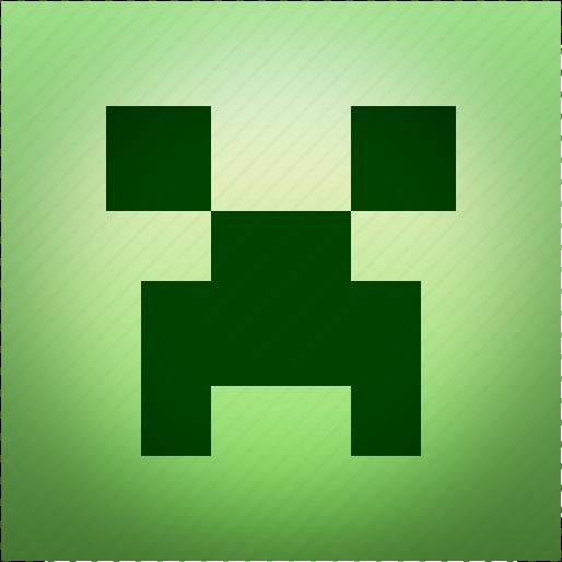 art, craft, creeper, mine, minecraft icon